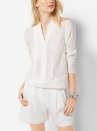Pleated Tunic  by Michael Kors