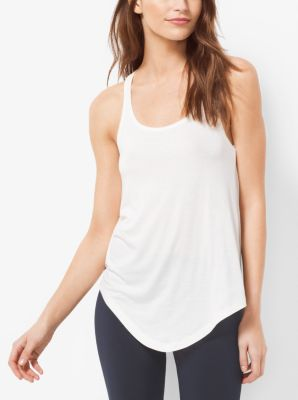 Active Cross-Back Tank Top by Michael Kors
