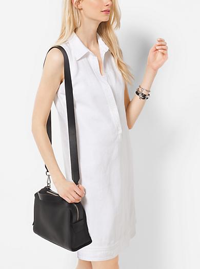 Linen Shirtdress by Michael Kors