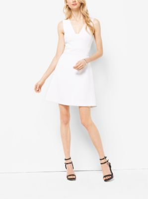 Stretch Fit-and-Flare Dress  by Michael Kors