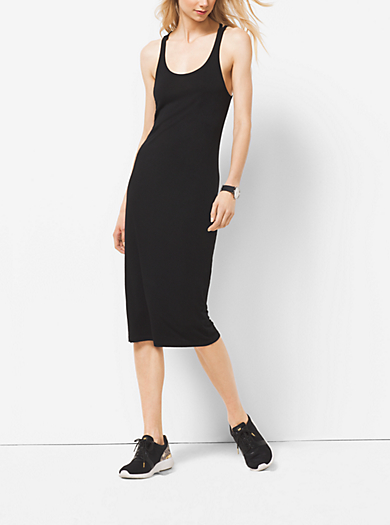 Active Cross-Back Tank Dress by Michael Kors