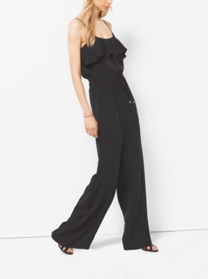 Ruffled Crepe Jumpsuit by Michael Kors