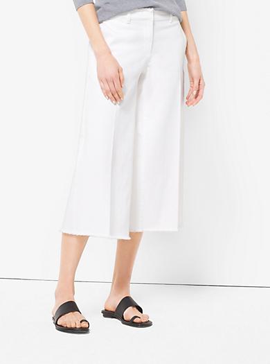 Denim Culottes  by Michael Kors