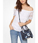 Eyelet Cotton Off-The-Shoulder Top