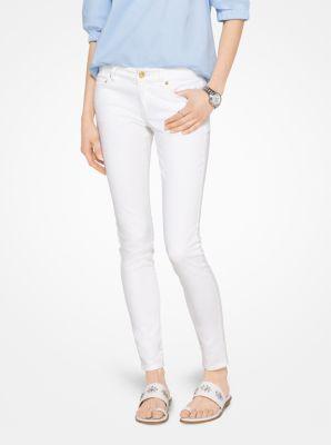 마이클 마이클 코어스 스키니 진 화이트 Michael Michael Kors Skinny Jeans,WHITE