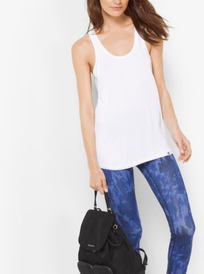 Active Double-Layer Tank Top, Plus Size by Michael Kors