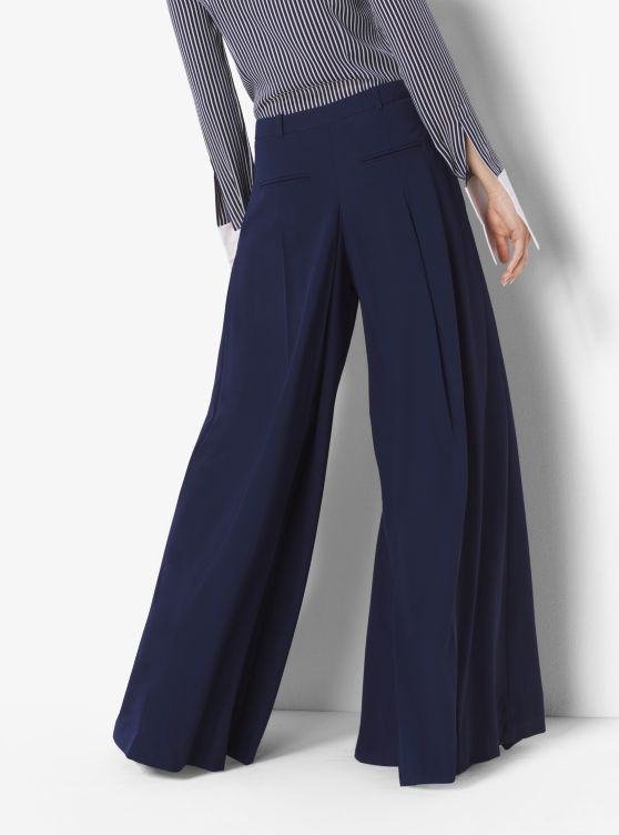 Wool-Serge Palazzo Trousers_preview1