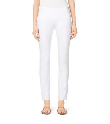 Cotton And Linen Pants Michael Kors