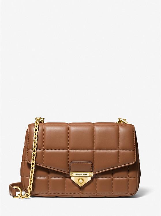 Soho Large Quilted Leather Shoulder Bag
