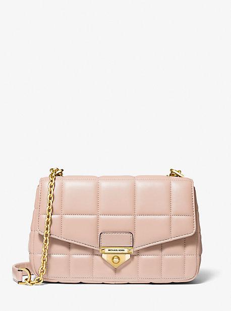 SoHo Large Quilted Leather Shoulder Bag | Michael Kors