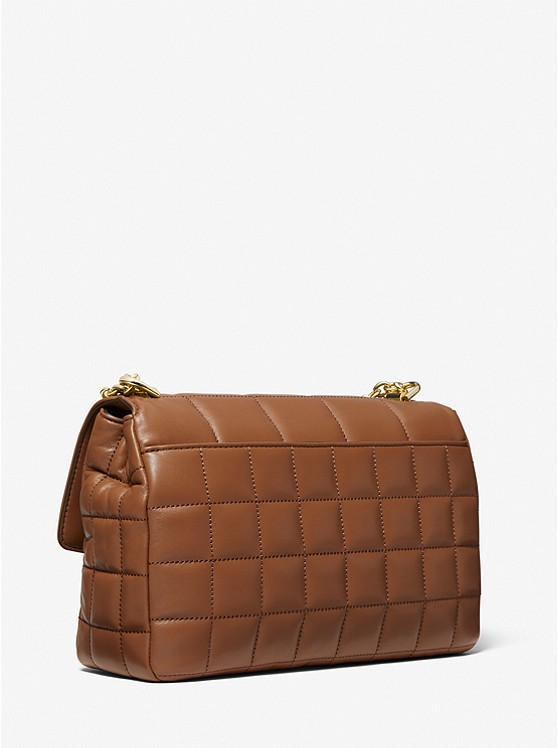 SoHo Extra-Large Quilted Leather Shoulder Bag
