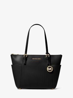 jet set top zip saffiano leather tote michael kors. Black Bedroom Furniture Sets. Home Design Ideas