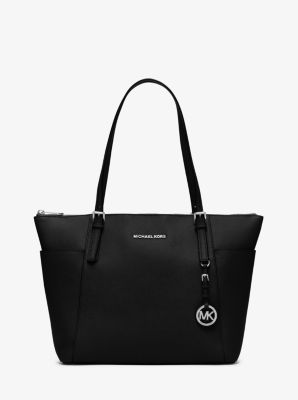 0cb52ff92904 Jet Set Large Saffiano Leather Top-zip Tote Bag | Michael Kors