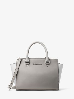 93e802194fc4 We're sorry, 'Selma Medium Color-Block Leather Satchel' is no longer  available