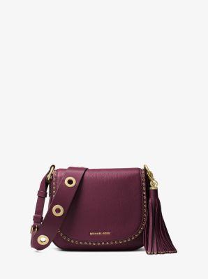 99ddc90f469f Brooklyn Medium Leather Saddlebag | Michael Kors