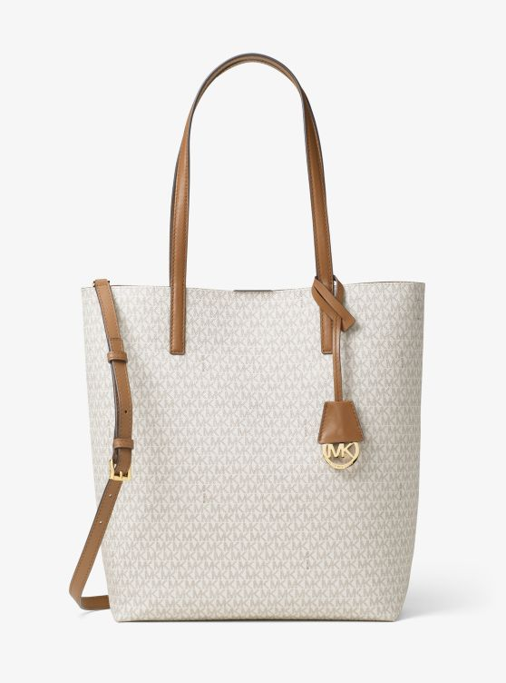 Hayley Large Logo North-South Tote