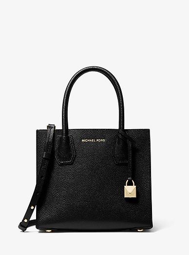 612b9aeac Mercer Medium Pebbled Leather Crossbody Bag | Michael Kors