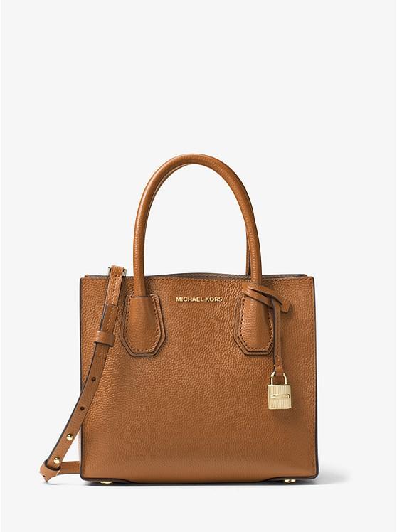 e8b84c81e6 Mercer Medium Pebbled Leather Crossbody Bag | Michael Kors
