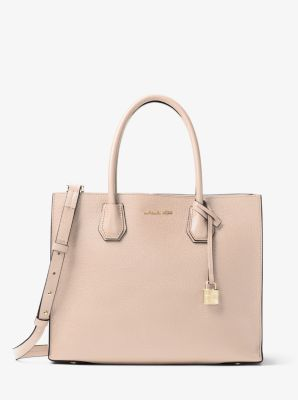 7e0f3577ff Mercer Large Pebbled Leather Tote Bag