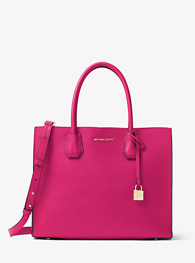 Mercer Large Leather Tote Quickview Michael Kors