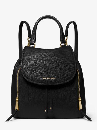 Viv Large Leather Backpack Michael Kors