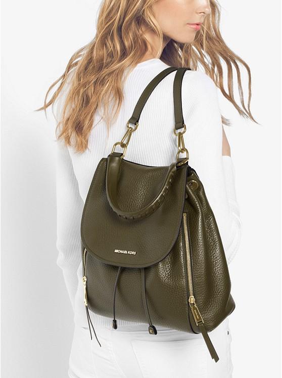 Michael Kors Viv Large Leather Backpack - Big Apple Buddy