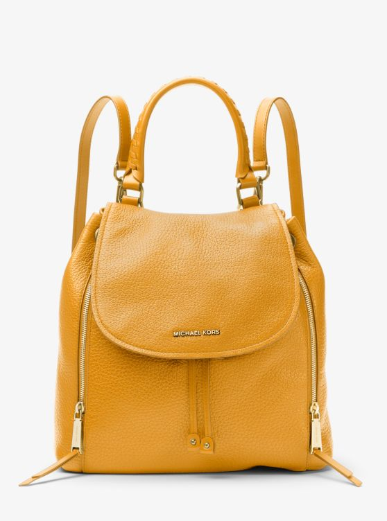 Viv Large Leather Backpack