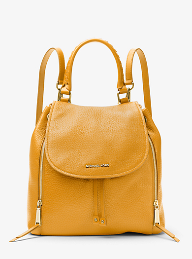 Viv Large Leather Backpack Quickview Michael Kors