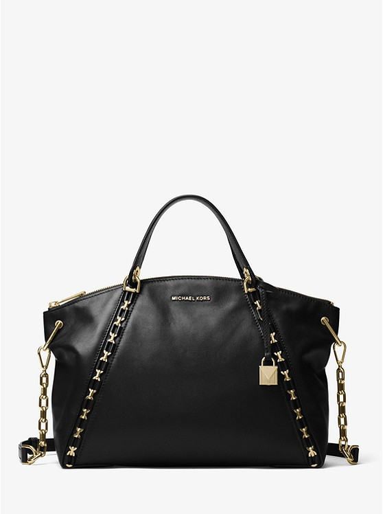 Sadie Leather Satchel