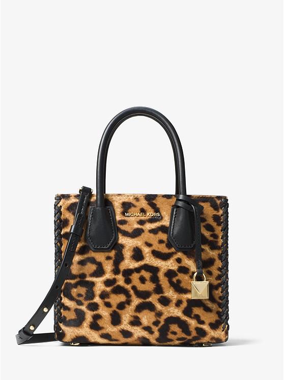 Mercer Leopard Calf Hair Crossbody