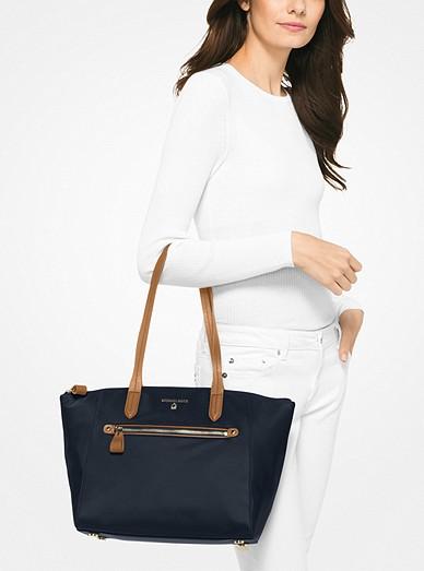 Kelsey Medium Nylon Tote Bag. MICHAEL Michael Kors 42c255e5ffe97