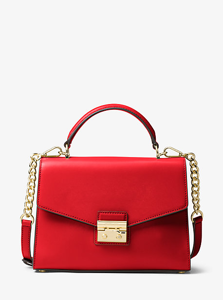 Michael Michael Kors  SLOAN LEATHER SATCHEL