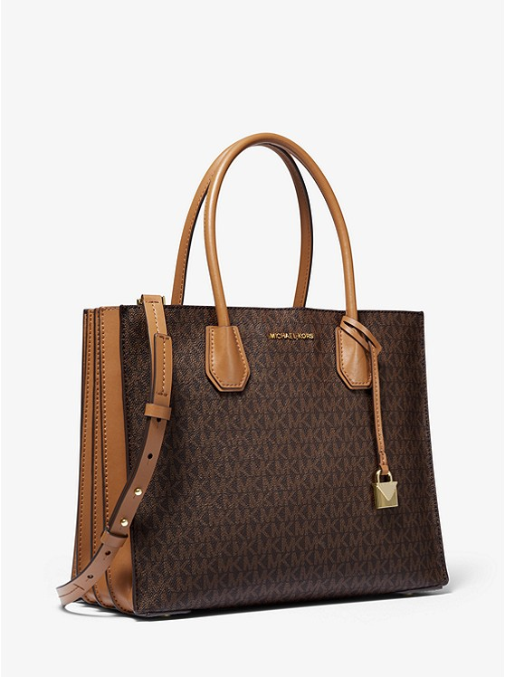 Mercer Large Logo Tote Bag by Michael Michael Kors