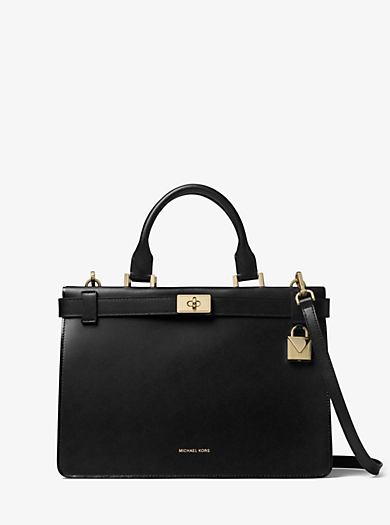 364360e1c04cd6 Tatiana Medium Leather Satchel | Michael Kors