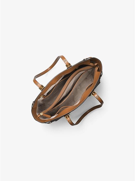 5853f7b4649c1e Voyager Medium Logo Tote Bag | Michael Kors