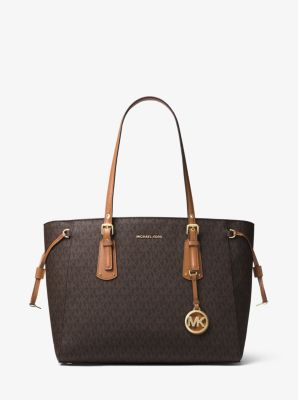 Voyager Medium Logo Tote Bag Michael Kors