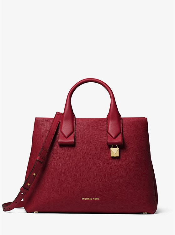 89bcad1cfcac Rollins Large Pebbled Leather Satchel preview0 ...