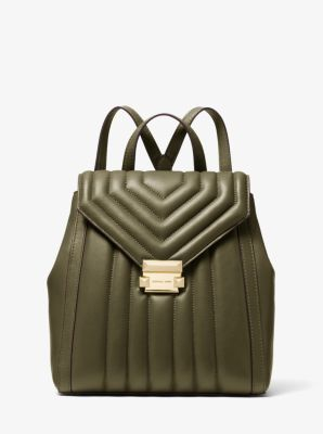 72f24bdc2de8 Whitney Quilted Leather Backpack | Michael Kors