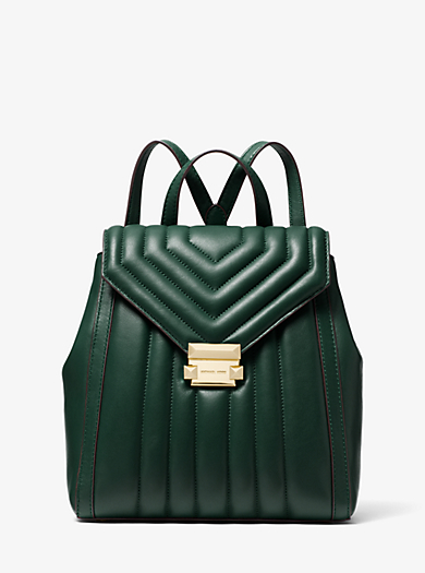 c575d4de124eb7 Whitney Quilted Leather Backpack | Michael Kors