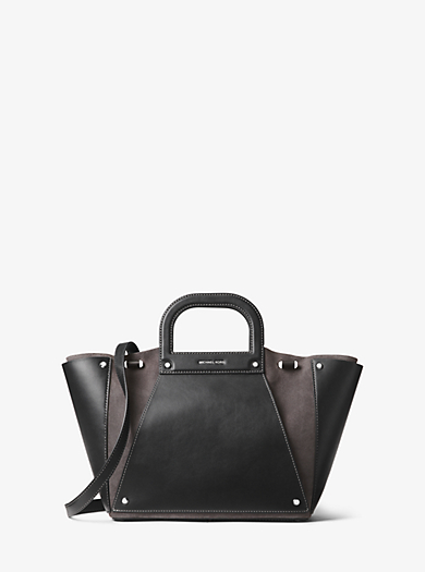 8ec1357fe753 We're sorry, 'Clara Large Leather and Suede Tote Bag' is no longer available