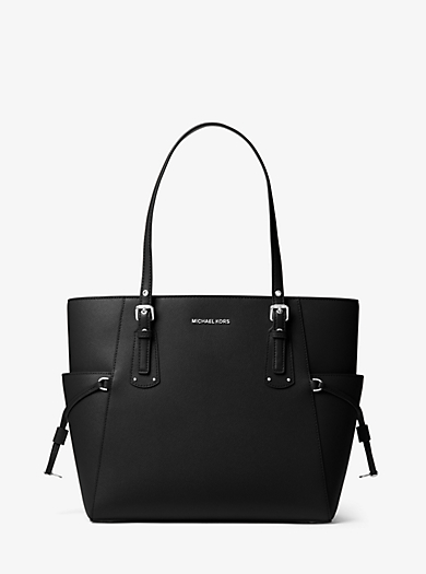 98795c89ad7a Voyager Small Crossgrain Leather Tote Bag · michael michael kors ...