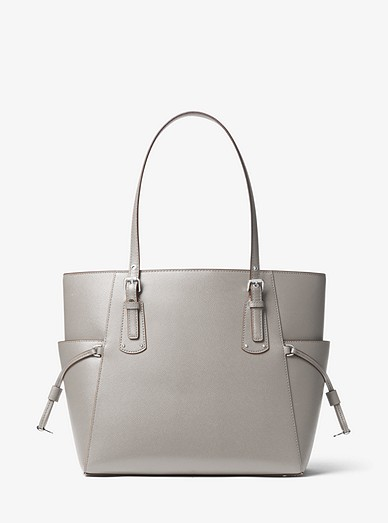 2c0a913437d2 Voyager Small Crossgrain Leather Tote Bag. MICHAEL Michael Kors