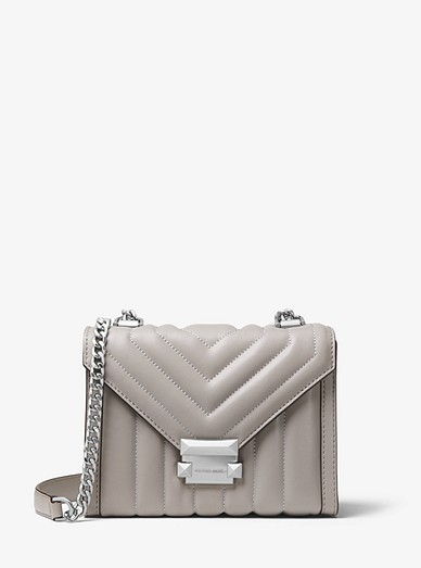 limited price preview of top-rated original Whitney Small Quilted Leather Convertible Shoulder Bag | Michael Kors