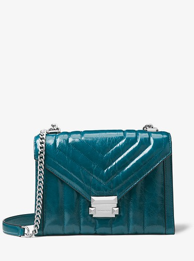 04facb77994d57 Whitney Large Quilted Leather Convertible Shoulder Bag | Michael Kors
