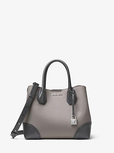 ed8e8399f Bolso satchel Mercer Gallery pequeño de piel con bloque de color