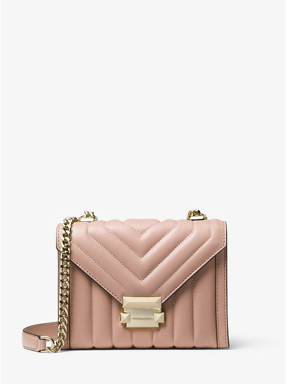 9ea22b9decb4 Whitney Small Quilted Leather Convertible Shoulder Bag preview0 ...