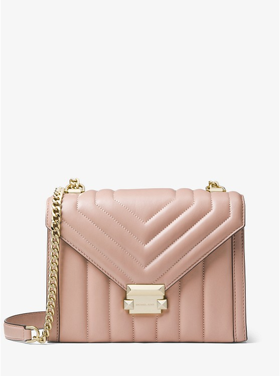 937ec31f59 Whitney Large Quilted Leather Convertible Shoulder Bag ...
