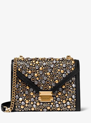 Whitney Large Embellished Convertible Shoulder Bag Michael Kors