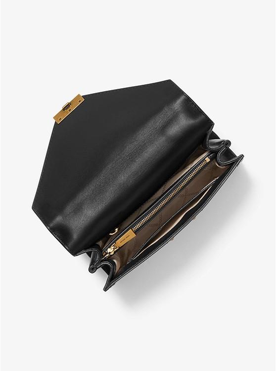 Borsa A Spalla Whitney Grande Convertibile Con Stampa