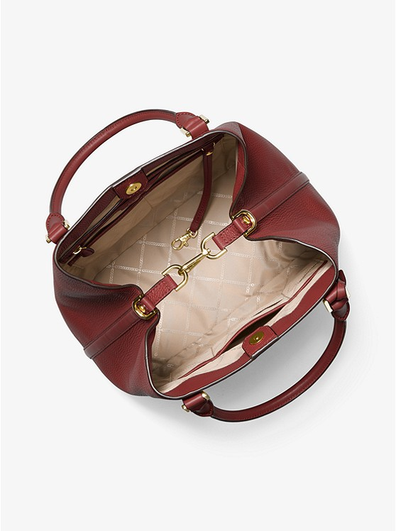 Michael Kors Bedford LG Shoulder Tote Luggage